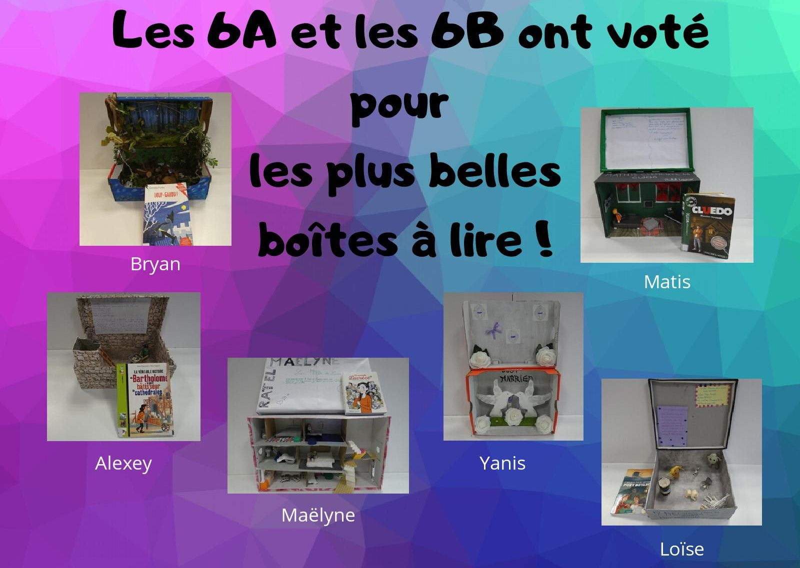 Affiche Les 6A et les 6B ont voté pour les plus belles boîtes à lire !-page-001.jpg